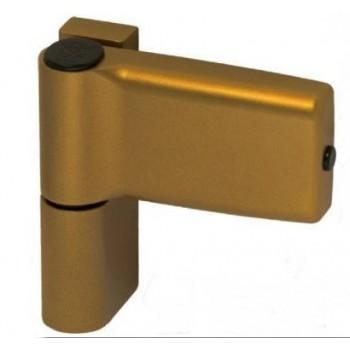 Дверная петля JOCKER, 120 кг, золото