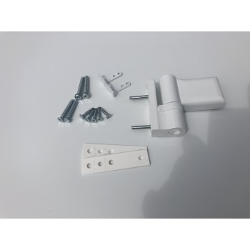Дверная петля ПД-S 85  кг (аналог KTS) , цвет ,белый