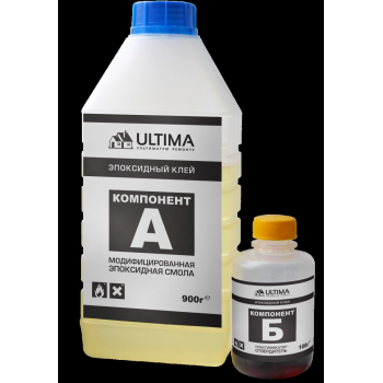 Эпоксидный клей ULTIMA на основе эпоксидной смолы, 1000 г