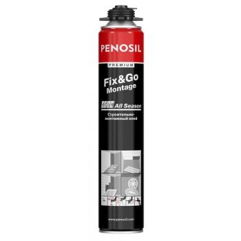 Аэрозольный монтажный клей Penosil Premium Fix&Go Montage, 750 ml