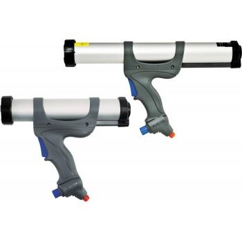 Пистолет пневматический AIRFLOW 3 SACHET / CARTRIGES с алюминиевым корпусом для туб 600 мл и нефасованных герметиков любого типа