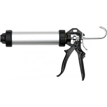 Пистолет для картриджей, туб и нефасованных материалов POWERFLOW Combi (алюминиевый корпус)