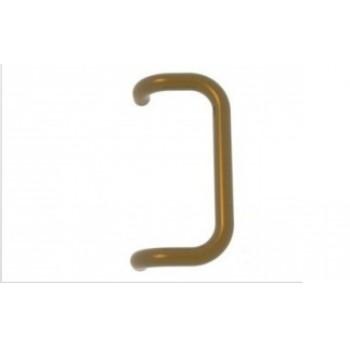 """Дверная ручка скоба 350 мм, золото """"Medos"""""""