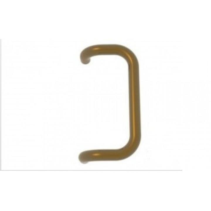 Дверная ручка скоба 350 мм, золото