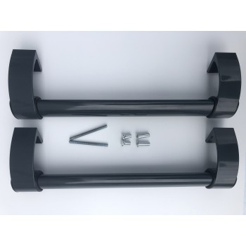 Дверная ручка 350 мм, Антрацит