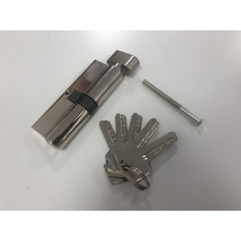 Цилиндр замочный 40х40, с ручкой (ЦИНК)