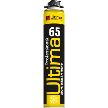 Пена монтажная Ultima pro 65 (зима) 850 мл