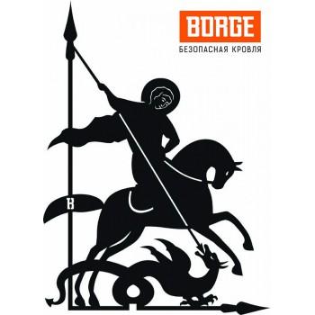 Флюгер Георгий Победоносец, большой BORGE 700х435мм