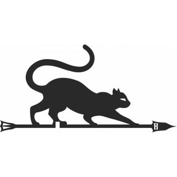 Флюгер кошка, большой BORGE 700х435мм