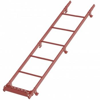 Лестница кровельная Grand Line (Гранд Лайн), 3м, комплект с крепежом