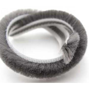 Фетр щеточный серый